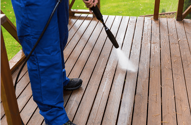 deck cleaning baltimore