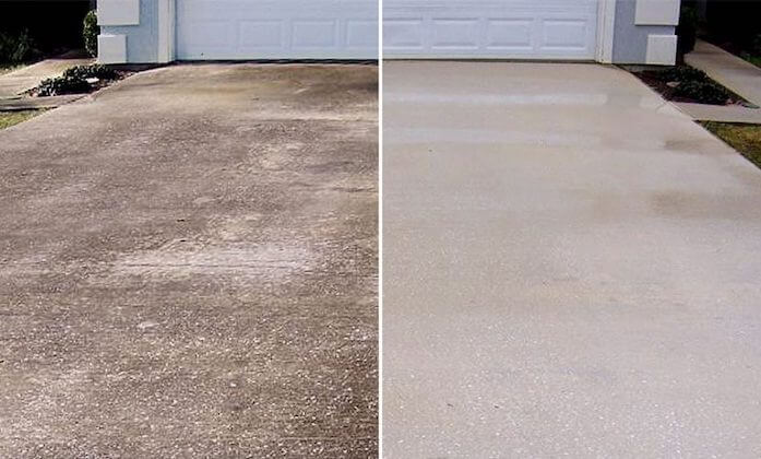 baltimore driveway cleaning